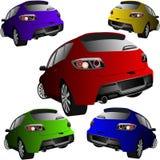 Carros de esportes Foto de Stock