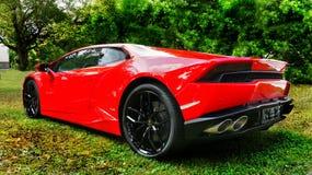 Carros de esportes luxuosos Imagens de Stock