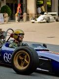 Carros de fórmula clássicos em Bergamo Prix grande histórico 2017 Foto de Stock Royalty Free