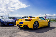 Carros de Ferrari imagem de stock
