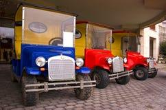 Carros de golf imágenes de archivo libres de regalías