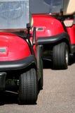 Carros de golf Fotografía de archivo