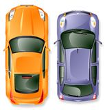 Carros de japão do vetor. Fotos de Stock