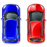 Carros de japão do vetor. Fotos de Stock Royalty Free