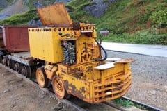 Carros de la explotación minera del paso de Hatcher imagen de archivo libre de regalías