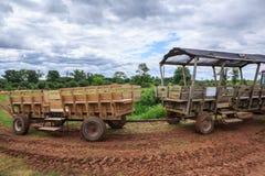 Carros de la granja imágenes de archivo libres de regalías