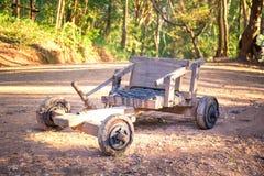Carros de madera Tailandia Fotografía de archivo libre de regalías