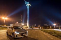 Carros de motor brandnew Hyundai Fotografia de Stock Royalty Free