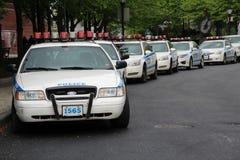 Carros de NYPD em Manhattan Fotos de Stock Royalty Free