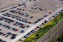 Carros de Parkes Imagem de Stock Royalty Free