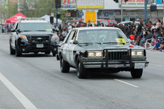 Carros de polícia Fotografia de Stock Royalty Free