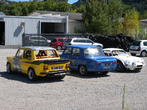 Carros de Renault Foto de Stock