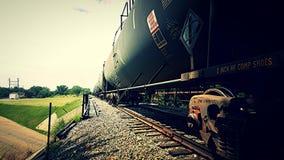 Carros de trem Fotografia de Stock