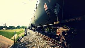 Carros de trem Imagem de Stock