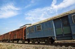Carros del camión del ferrocarril Fotos de archivo libres de regalías