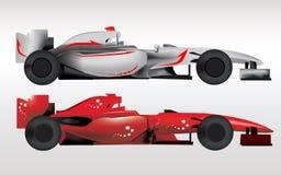 Carros desportivos da fórmula 1 Imagens de Stock Royalty Free