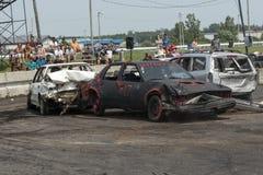 Carros destruídos Imagem de Stock