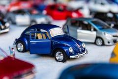 Carros diminutos do brinquedo Imagens de Stock
