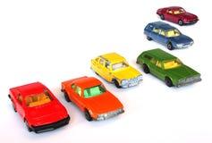 Carros do arco-íris Imagens de Stock Royalty Free