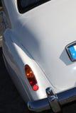 Carros do branco do vintage foto de stock