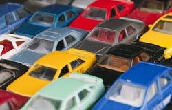 Carros do brinquedo Fotografia de Stock Royalty Free
