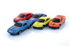 Carros do brinquedo Fotografia de Stock