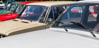 Carros do estacionamento Imagem de Stock