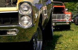 Carros do músculo Foto de Stock Royalty Free