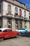 Carros do vintage, Havana, Cuba Imagem de Stock