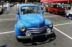Carros do vintage na exposição na exposição automóvel retro em Bressuire Imagens de Stock Royalty Free
