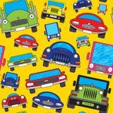 Carros dos desenhos animados. Fotografia de Stock Royalty Free