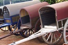Carros drenados Hourse Imágenes de archivo libres de regalías