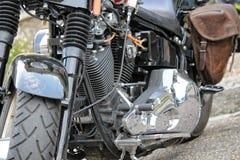Carros e bicicletas americanos Fotografia de Stock