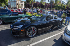 Carros e café de Blackhawk 6 de julho de 2014 Fotografia de Stock