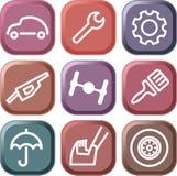 Carros e peças sobresselentes Fotos de Stock