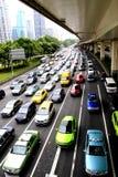 Carros em shanghai Fotos de Stock Royalty Free
