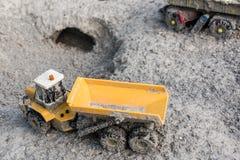 Carros esquecidos do brinquedo Fotos de Stock Royalty Free