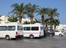 Carros estacionados Imagem de Stock Royalty Free