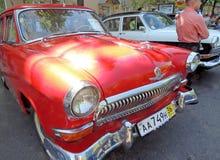Carros executivos soviéticos dos anos 60 GAZ M21 Volga Imagem de Stock