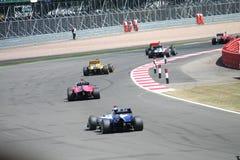 Carros F1 Imagem de Stock Royalty Free