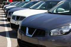 Carros luxuosos novos Foto de Stock Royalty Free