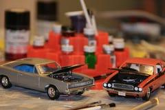 Carros modelo Fotografia de Stock