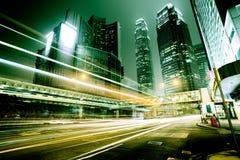 Carros moventes rápidos Imagem de Stock