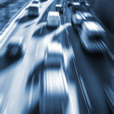 Carros muito rápidos Imagens de Stock Royalty Free