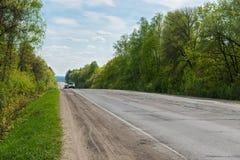 Carros na estrada Foto de Stock