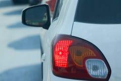 Carros na estrada Imagem de Stock