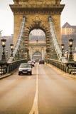 Carros na ponte Chain Foto de Stock