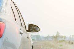 Carros nas estradas rurais Imagens de Stock