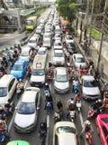 Carros no asfalto Imagem de Stock Royalty Free