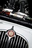 Carros no parque em HDR - reflexões Fotografia de Stock Royalty Free